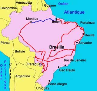 Carte Amerique Du Sud Pantanal.Pantanal Sud